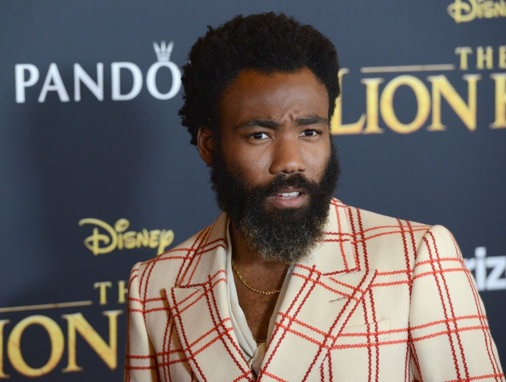 Donald Glover arrives for the premiere of Disney's The Lion King held at Dolby Theatre on July 9, 2019, in Hollywood, California.