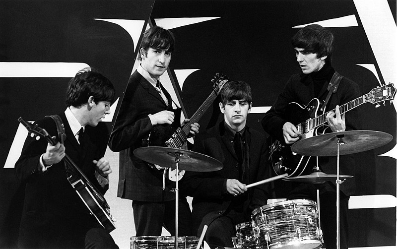 The Beatles in the early '60s