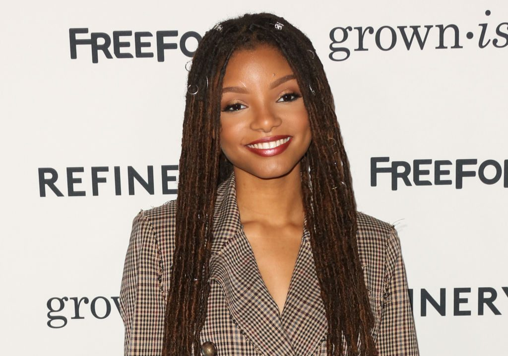 Actress Halle Bailey