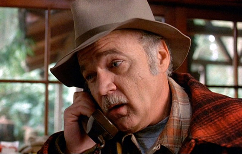 Jack Nance on the phone as Pete Martell in Twin Peaks