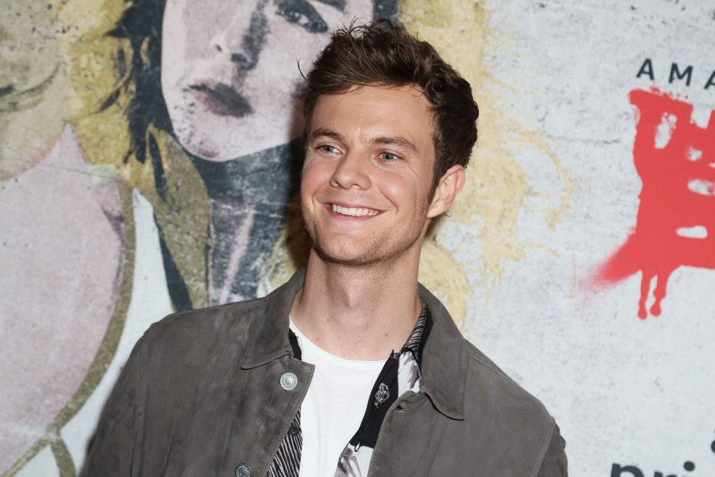 Jack Quaid attends 2019 Comic-Con International - Red Carpet for The Boys on July 19, 2019, in San Diego, California.