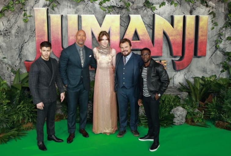 Jumanji cast