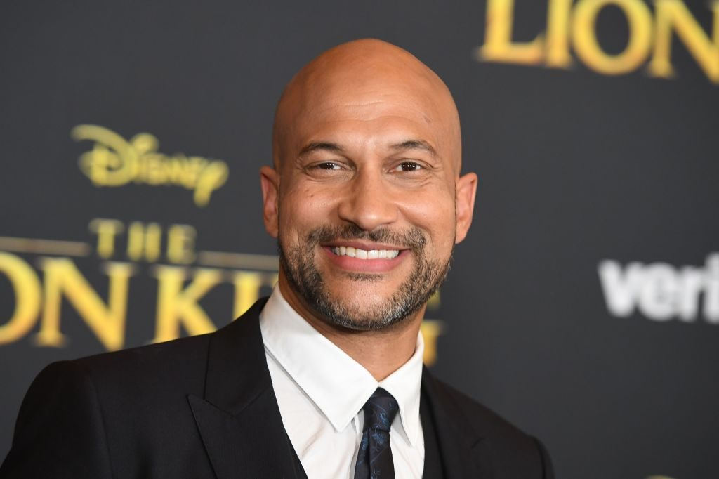 Keegan-Michael Key arrives for the world premiere of Disney's The Lion King at the Dolby Theatre on July 9, 2019 in Hollywood.