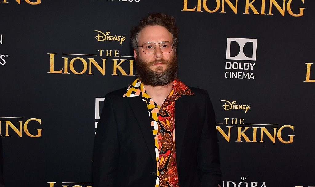 Seth Rogen attends the premiere of Disney's The Lion King at Dolby Theatre on July 09, 2019 in Hollywood, California.