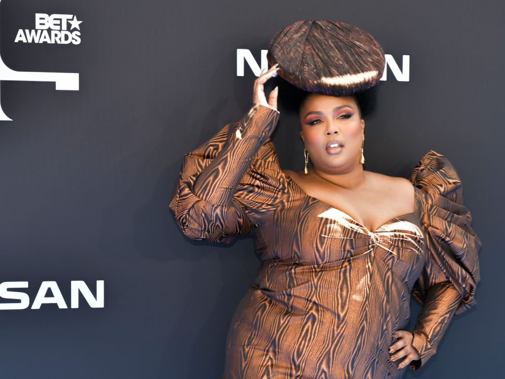 Lizzo attends the 2019 BET Awards on June 23, 2019, in Los Angeles, California.
