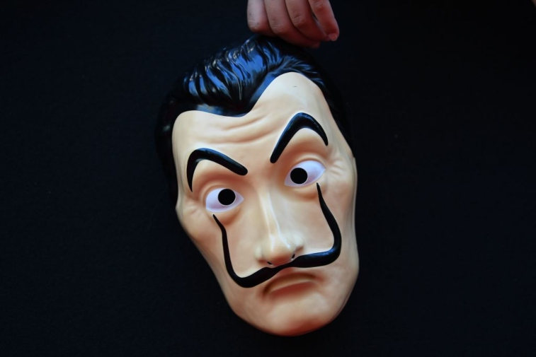 Mask from 'Money Heist'