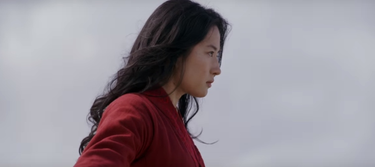 Liu Yifei as Mulan.