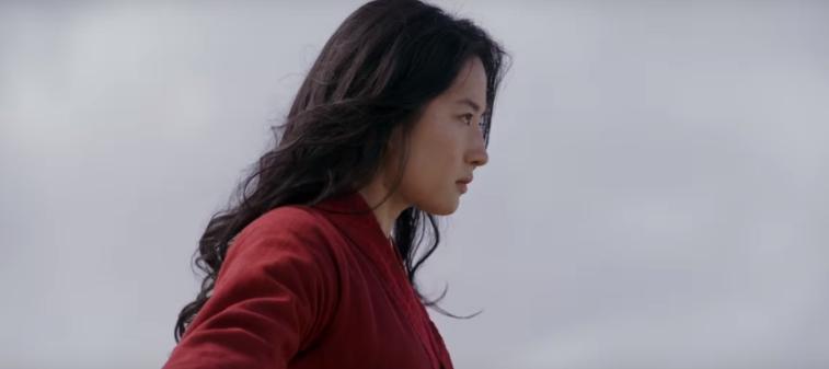 Liu Yifei as Mulan.