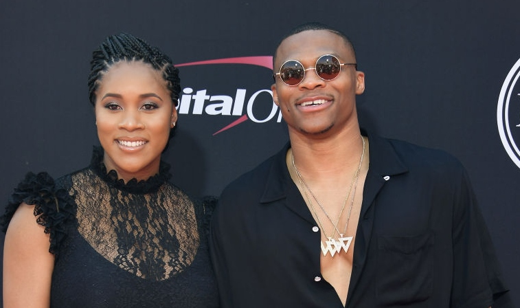 Nina and Russell Westbrook