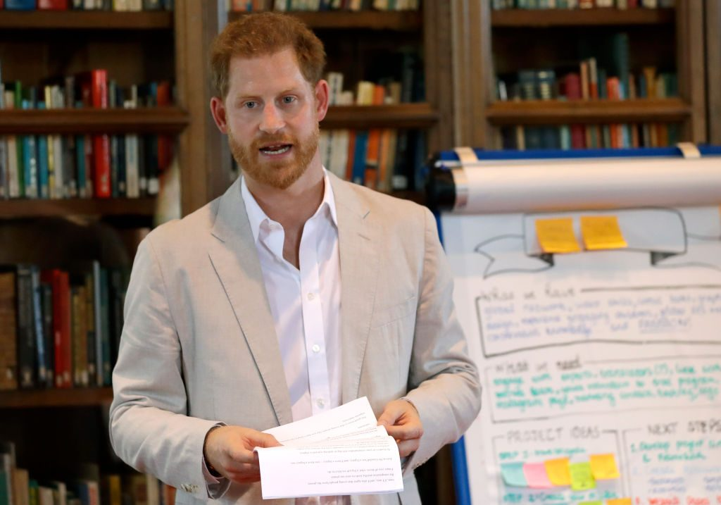Prince Harry environmental issues