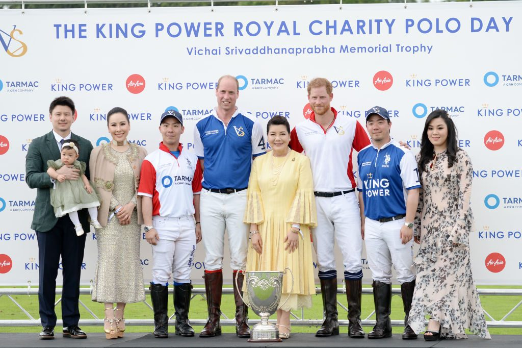 Prince William and Prince Harry snub at King Power Royal Charity Polo Day