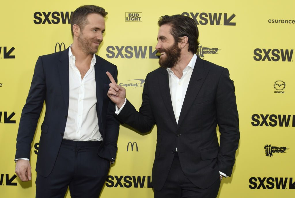 Ryan Reynolds and Jake Gyllenhaal attend the premiere of Life during the 2017 SXSW Conference and Festivals on March 18, 2017 in Austin, Texas.