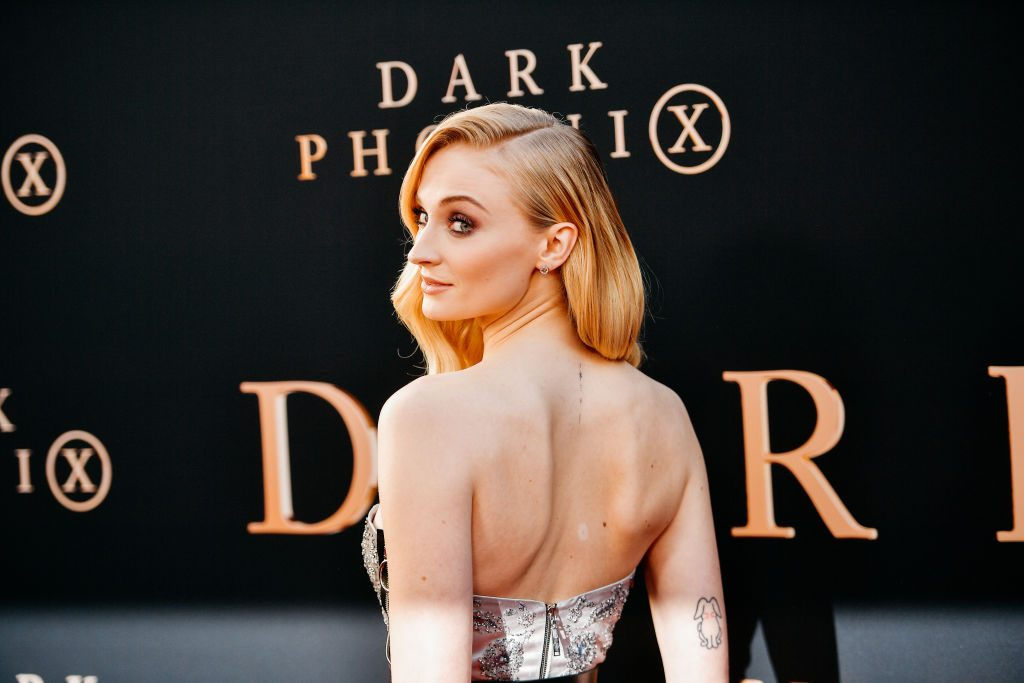 Sophie Turner attends the premiere of 20th Century Fox's Dark Phoenix at TCL Chinese Theatre on June 04, 2019 in Hollywood, California.