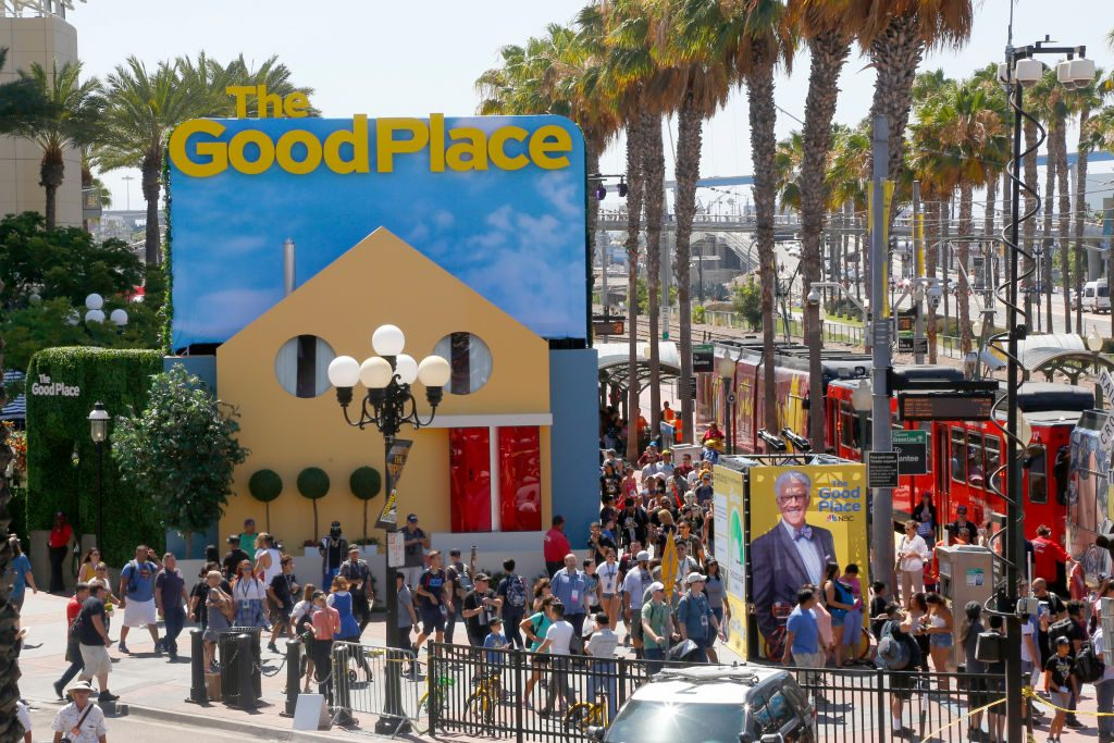 The Good Place Comic-Con 2018