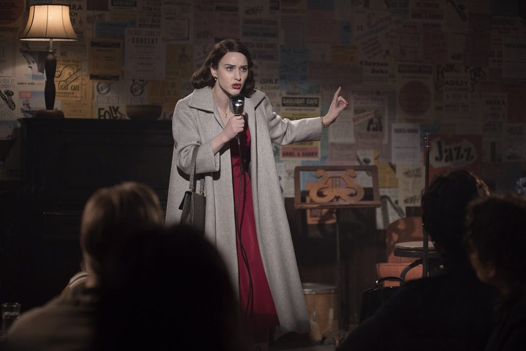 The Marvelous Mrs. Maisel season 1 cast Rachel Brosnahan