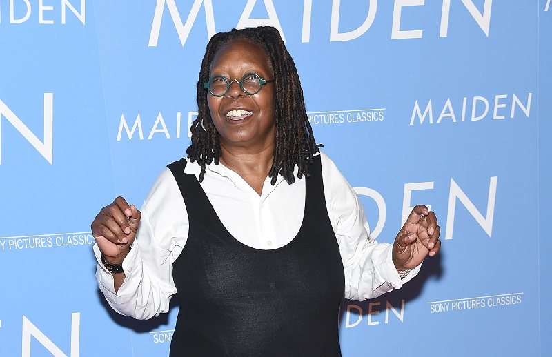 Whoopi Goldberg at the 'Maiden' premiere in 2019