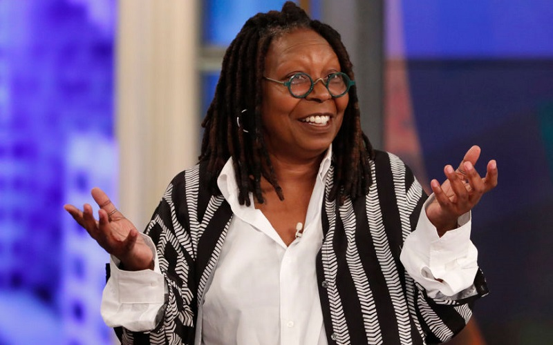 Whoopi Goldberg on 'The View' in 2019
