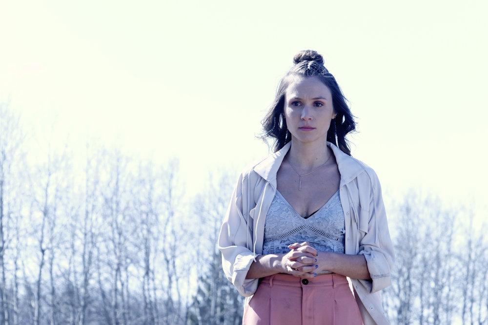 """Wynonna Earp """"War Paint"""" Episode 312 -- Dominique Provost-Chalkley as Waverly Earp"""