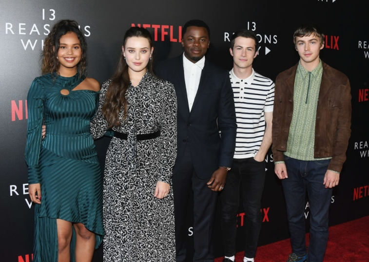 Cast of '13 Reasons Why'