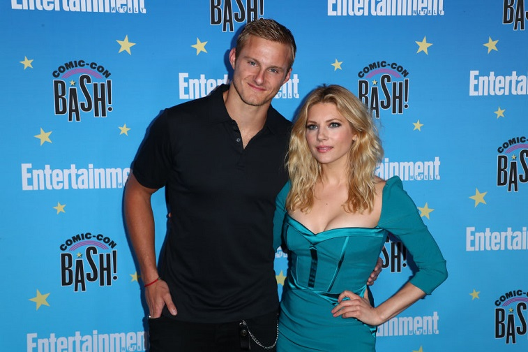 Alexander Ludwig and Katheryn Winnick