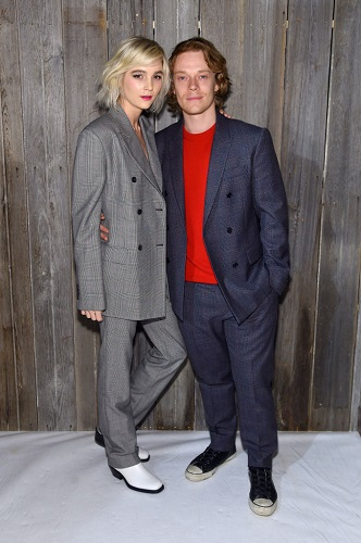 Allie Teilz and Alfie Allen