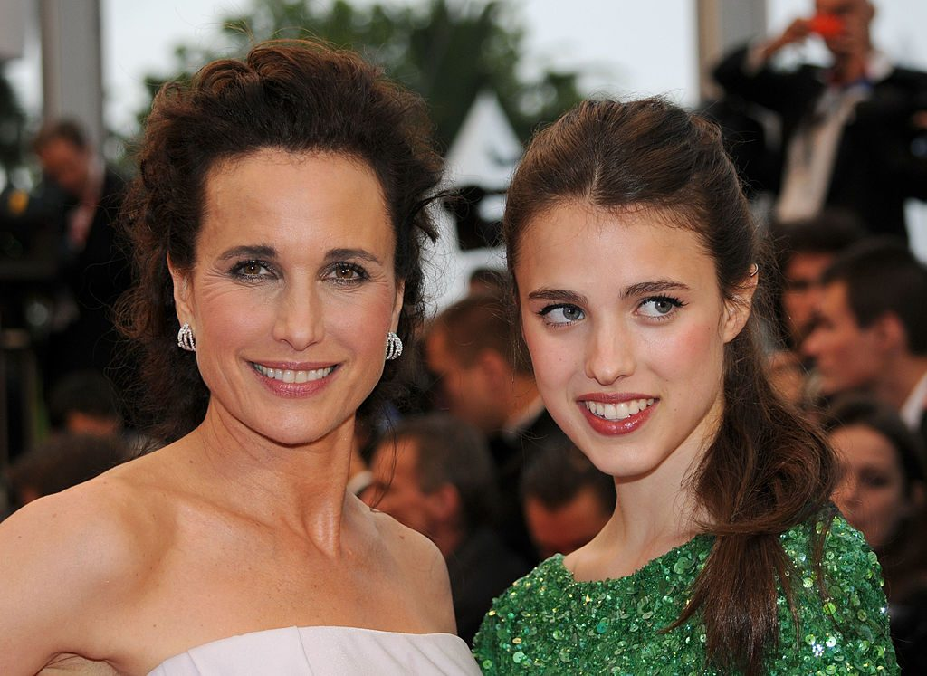 Andi MacDowell and Margaret Qualley