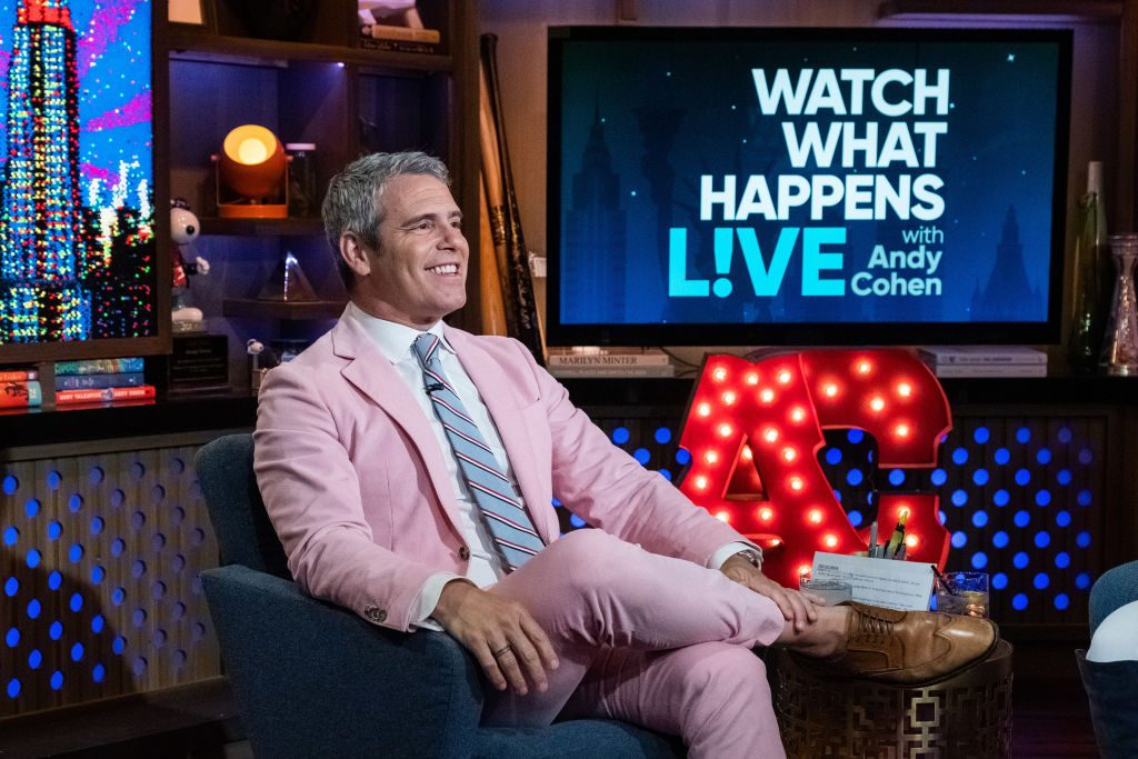 Andy Cohen is sitting down on 'Watch What Happens Live'