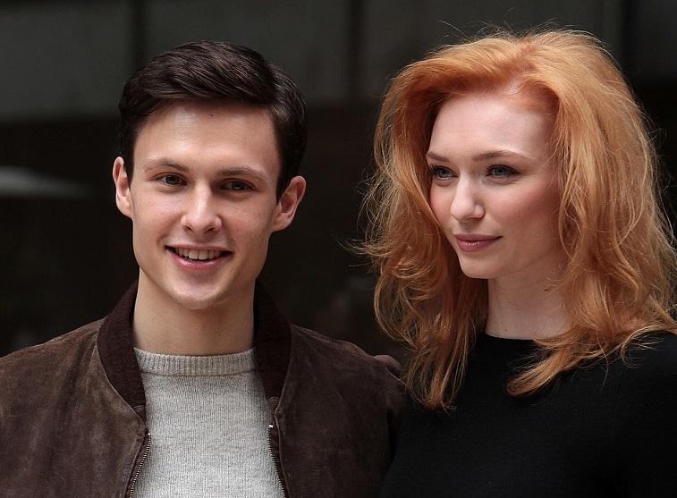 Arnas Fedaravicius and Eleanor Tomlinson