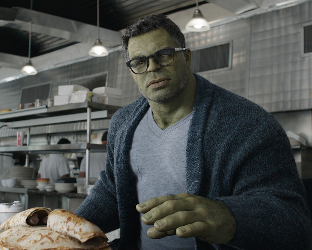 Mark Ruffalo as Smart Hulk in Avengers: Endgame