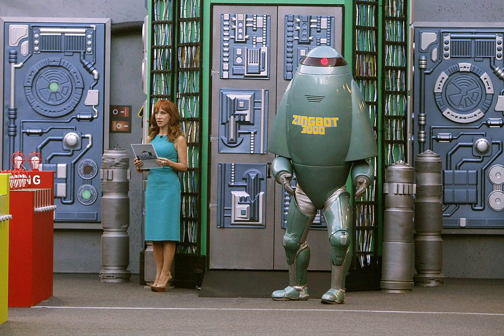 Zingbot and Kathy Griffin on 'Big Brother'