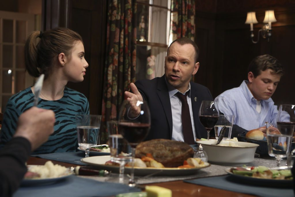 Sami Gayle, Donnie Wahlberg, Andrew Terraciano on' Blue Bloods'