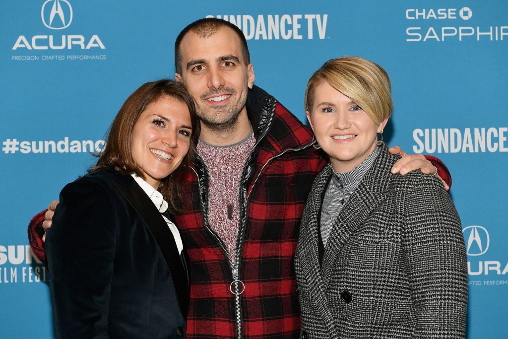 Brittany O'Neill, Paul Downs Colaizzo and Jillian Bell