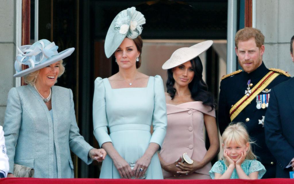 Camilla Parker Bowles, Kate Middleton, Meghan Markle
