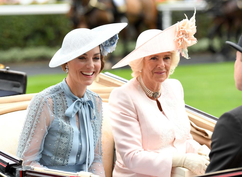 Camilla and Kate
