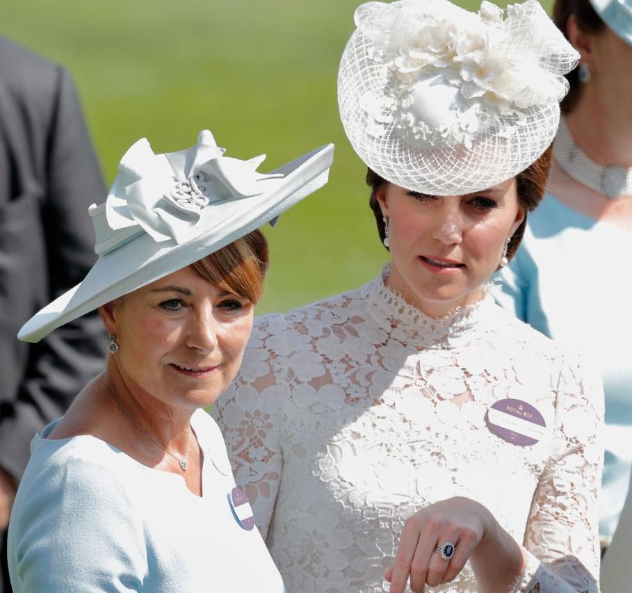 Carole Middleton and Kate Middleton