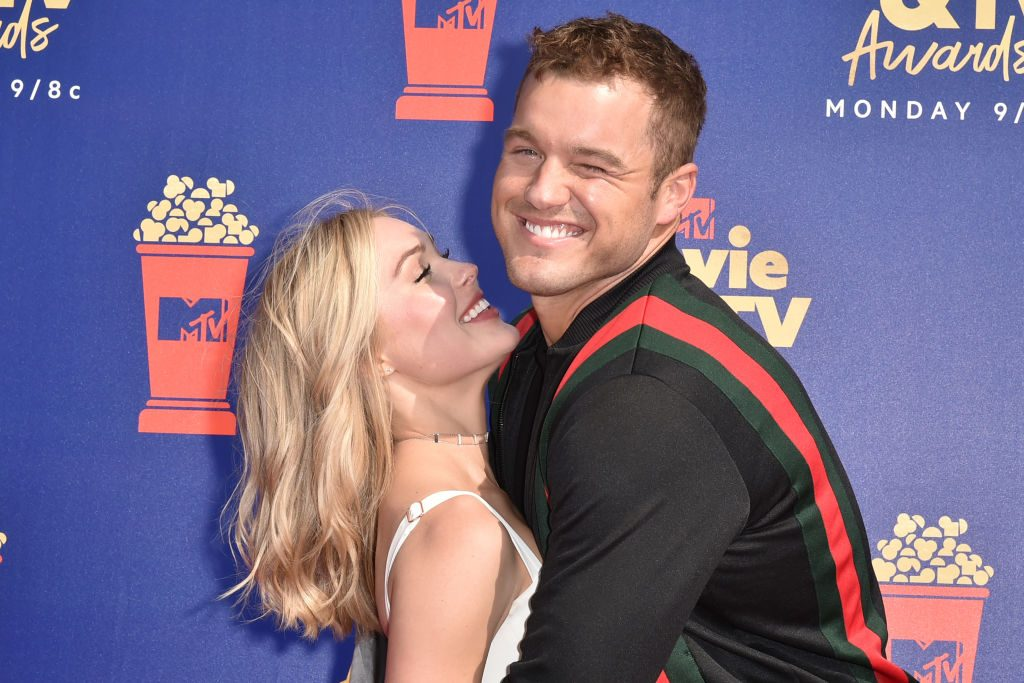 Cassie Randolph and Colton Underwood | David Crotty/Patrick McMullan via Getty Images