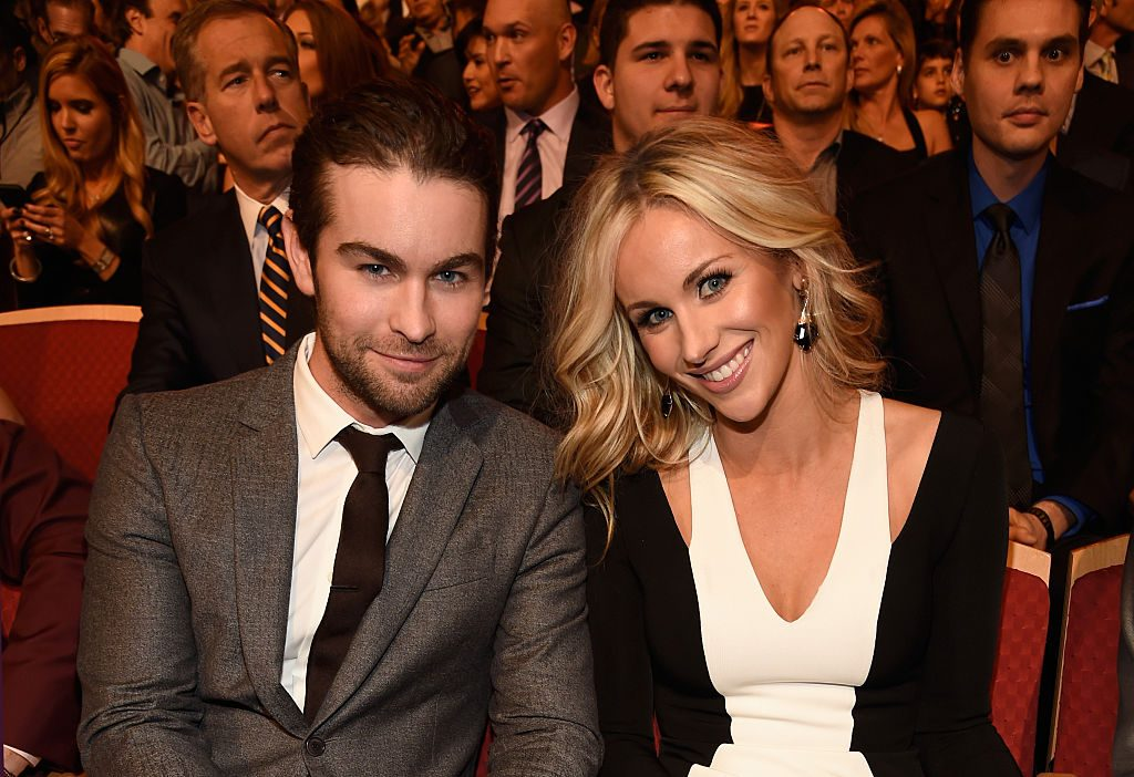 Chace Crawford and his sister, Candice Crawford