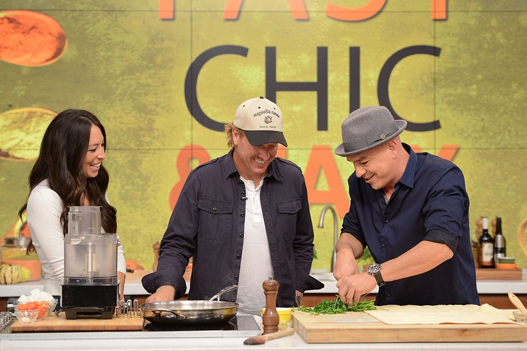 Chip and Joanna Gaines and Michael Symon | Lorenzo Bevilaqua/Walt Disney Television via Getty Images