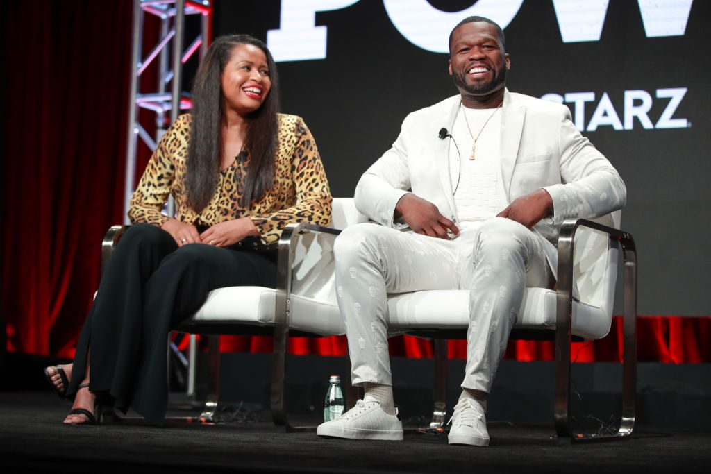 Courtney A. Kemp and 50 Cent