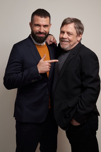 Tom Cullen and Mark Hamill