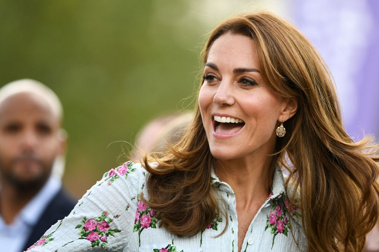 The Duchess of Cambridge attends a festival