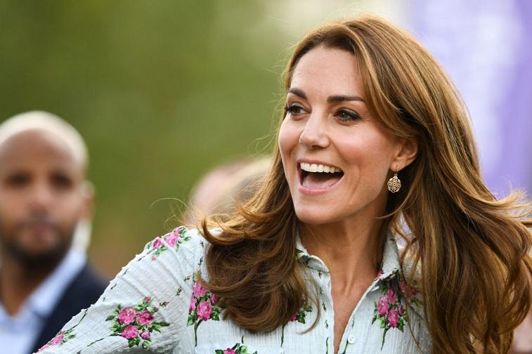 The Duchess of Cambridge attends a festival