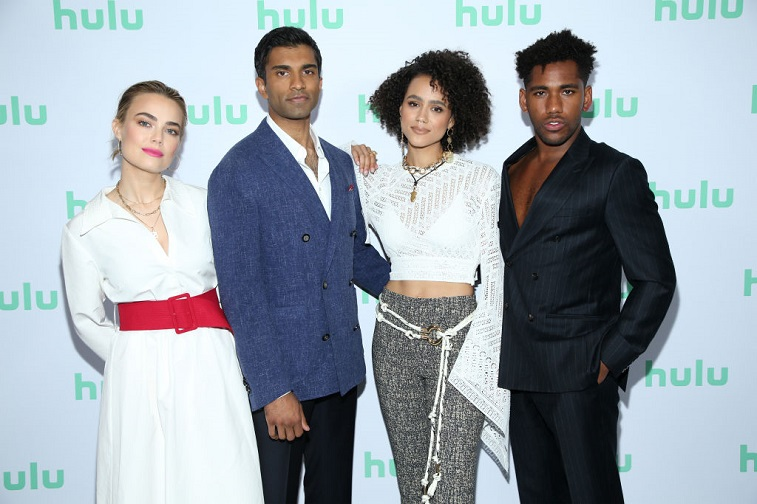 Rebecca Rittenhouse, Nikesh Patel, Nathalie Emmanuel, and Brandon Mychal Smith