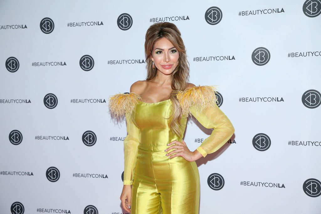 Farrah Abraham attends Beautycon Los Angeles