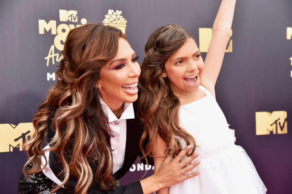 Farrah Abraham and Sophia Abraham at MTV Awards |  Jeff Kravitz/FilmMagic
