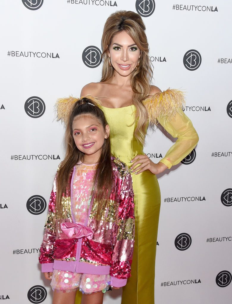 Farrah Abraham with Sophia Abraham at Beautycon | Gregg DeGuire/FilmMagic