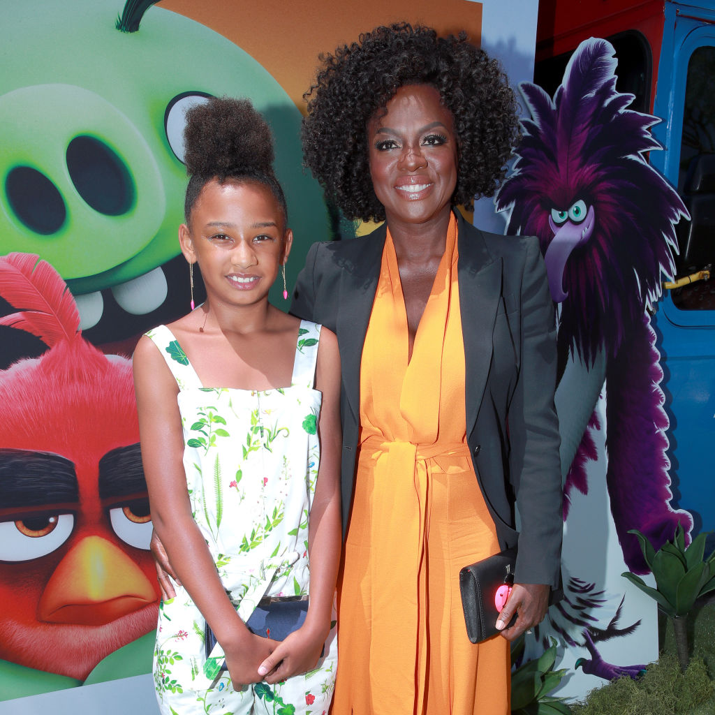 Genesis Tennon and Viola Davis