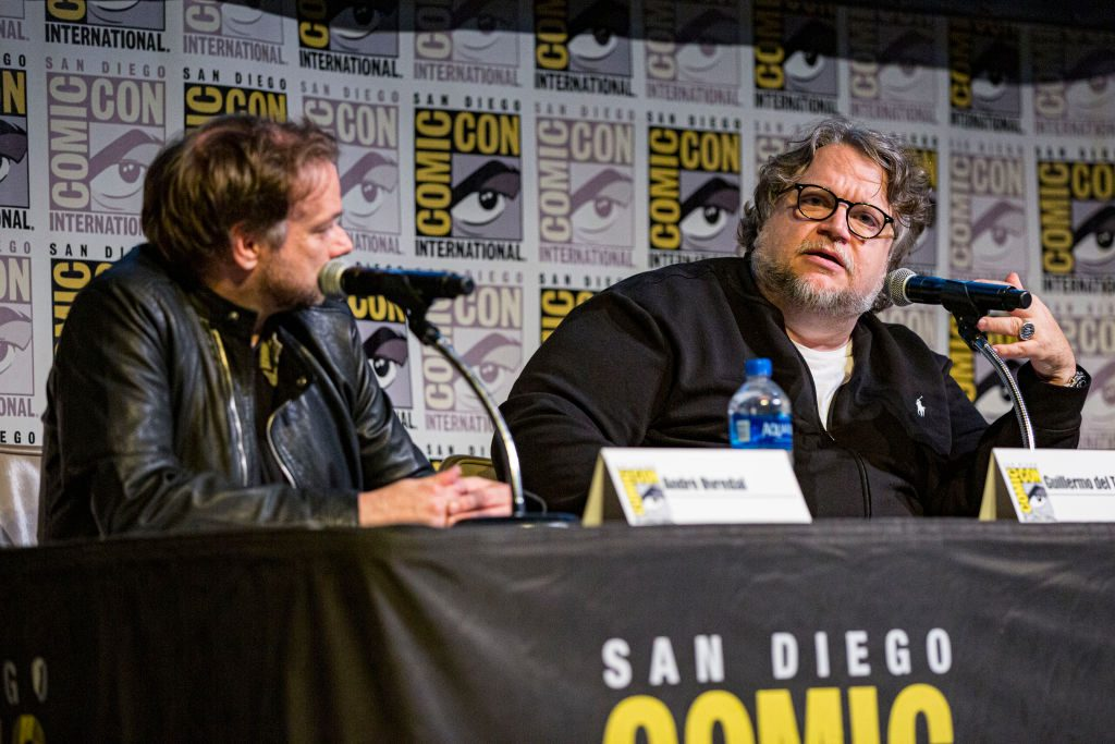 André Øvredal and Guillermo del Toro