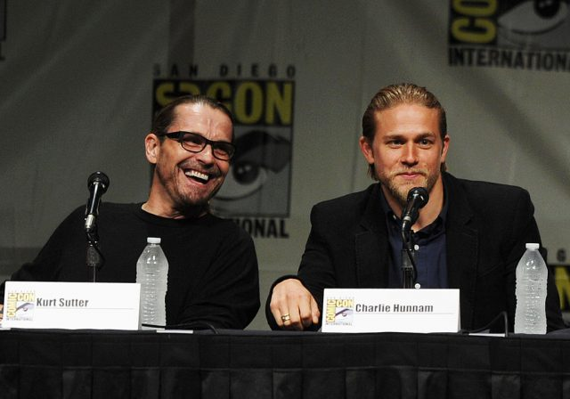'Sons of Anarchy' creator Kurt Sutter and star Charlie Hunnam