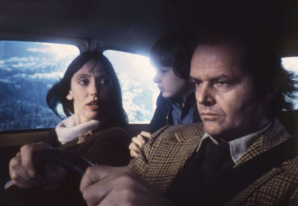 Jack Nicholson, Danny Lloyd and Shelley Duvall